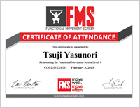 FMS(Functional Movement Screen) Level1